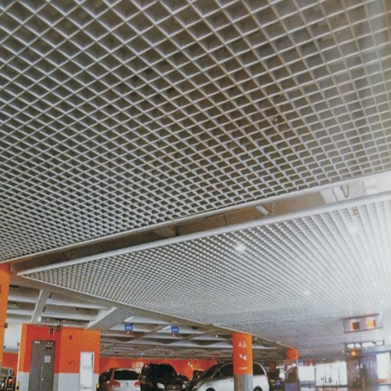 海南铝格栅工程案例